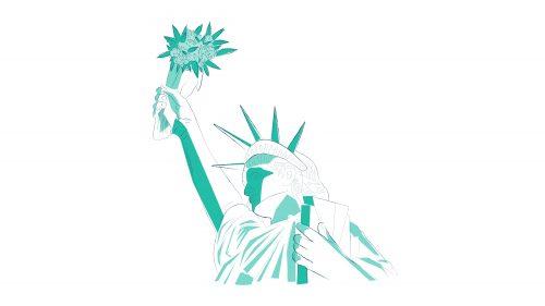 Estatua de la Libertad con Marihuana 2 - eeuu reforma cannabis ' Imagen por Ilona Szentivanyi. Todos los derechos reservados a El Planteo y Benzinga.