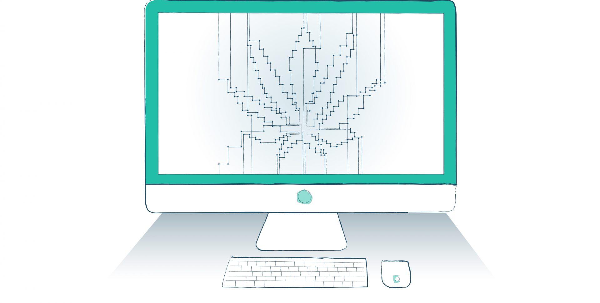 Cannabis Tecnología - Imagen por Ilona Szentivanyi. Todos los derechos reservados a El Planteo y Benzinga.