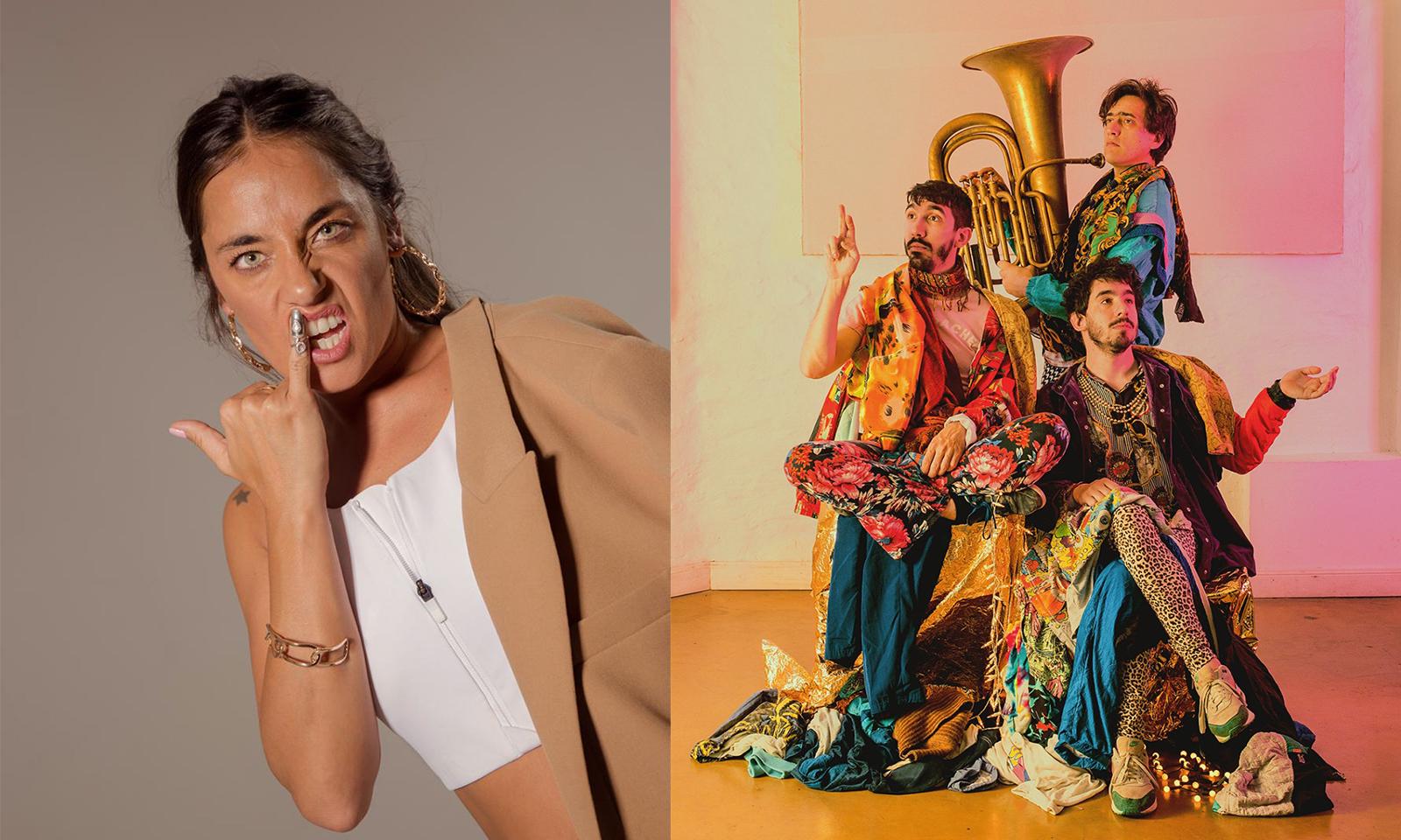 Sara Hebe y Los Reyes del Falsete