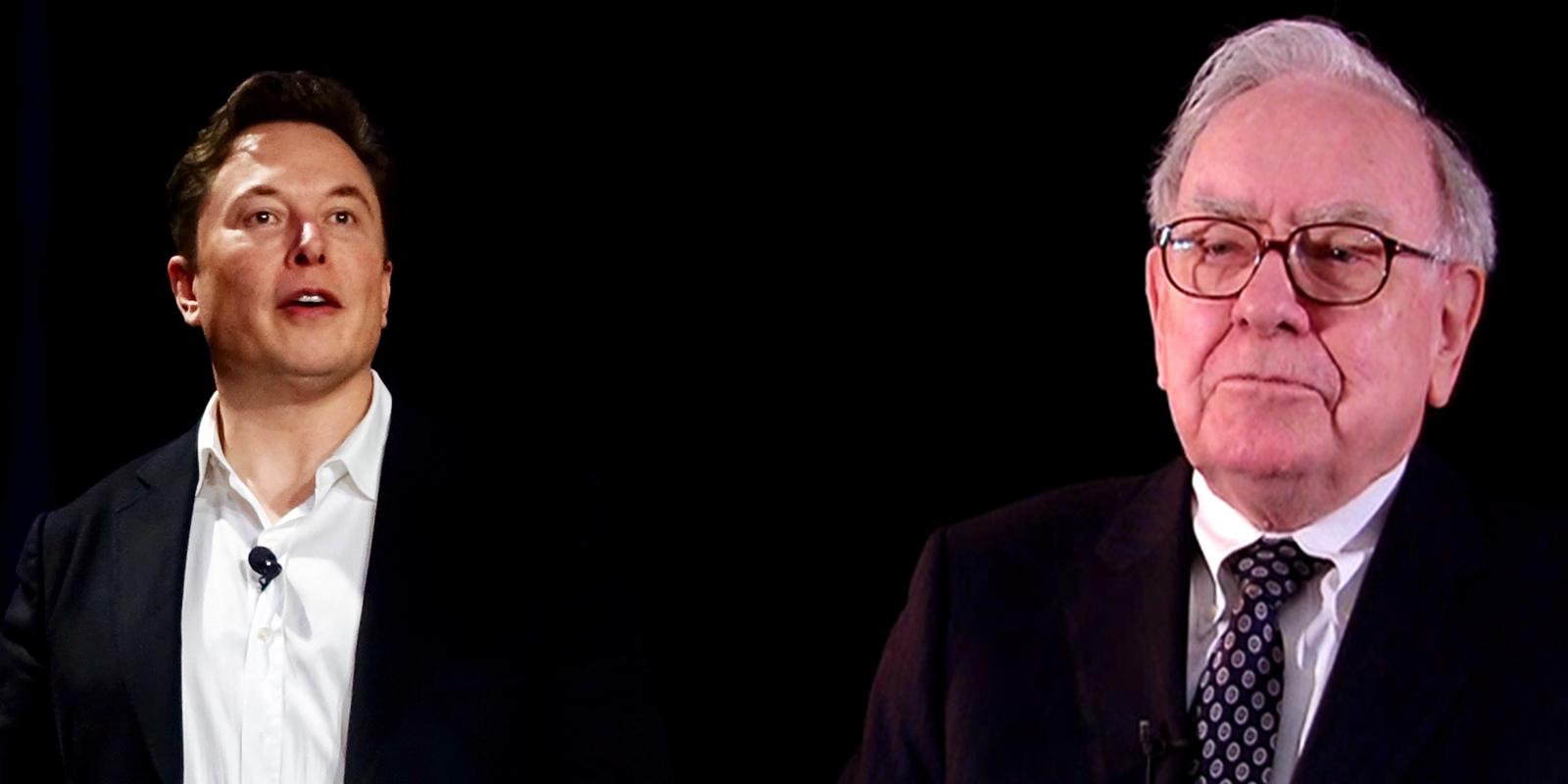 Musk y Buffett